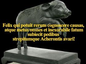 Virgil - Felix Qui Potuit Rerum Cognoscere Causas