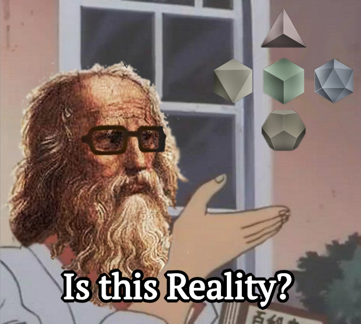 """Plato: """"Is [the Realm of Forms] Reality?"""""""
